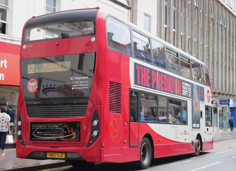BOA Bus Rear Advertising Campaign