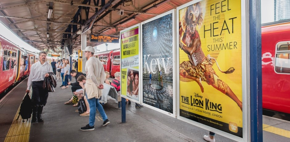 Train Station and Rail Advertising