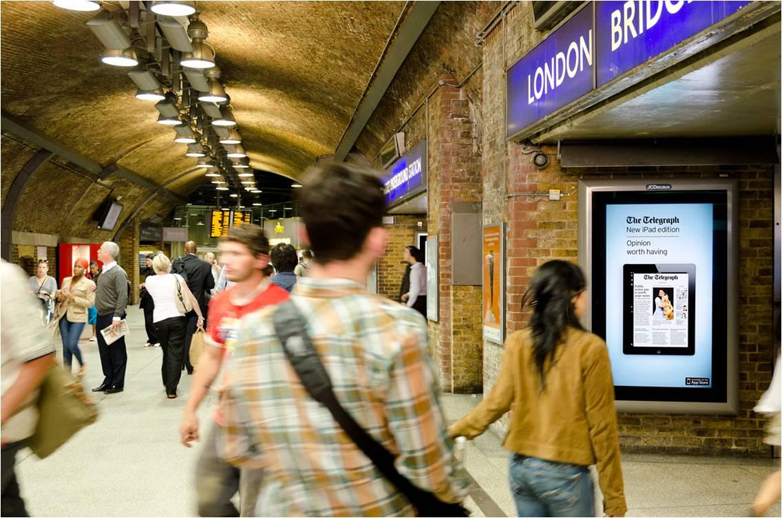 london underground - 6 sheet